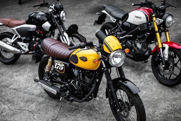 200cc以下のネオクラシックバイクの画像