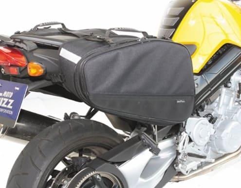 サイドバッグMFK-187を装着したバイクの画像