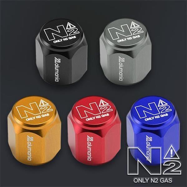 N2バルブキャップの画像