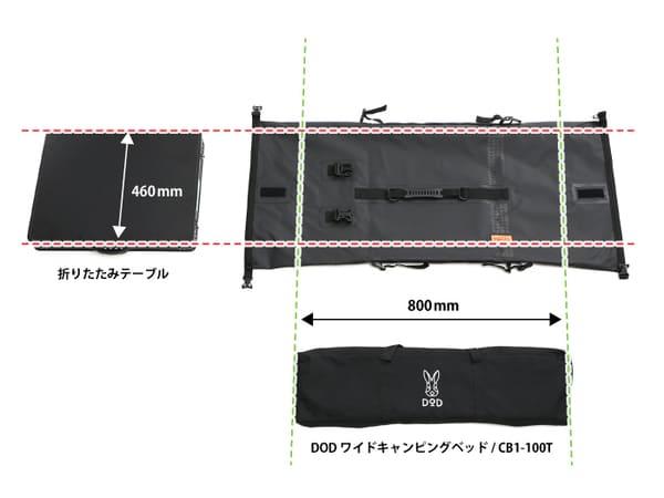 ターポリンツーリングシートバッグの積載参考画像2