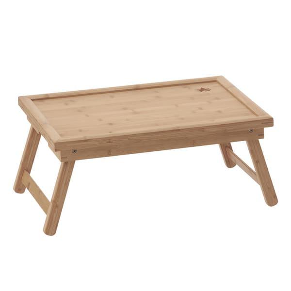 アウトドアテーブルバンブーの画像