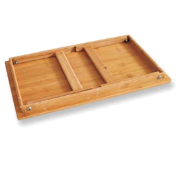 バンブーテーブルの収納時画像