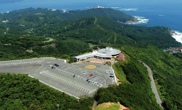 鳥羽展望台の上空からの画像