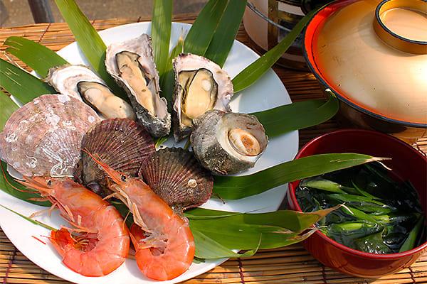 海鮮焼き貝BBQセットの画像