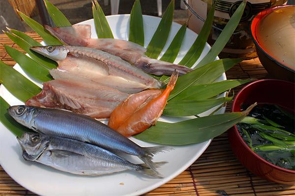 海鮮焼き魚BBQセットの画像