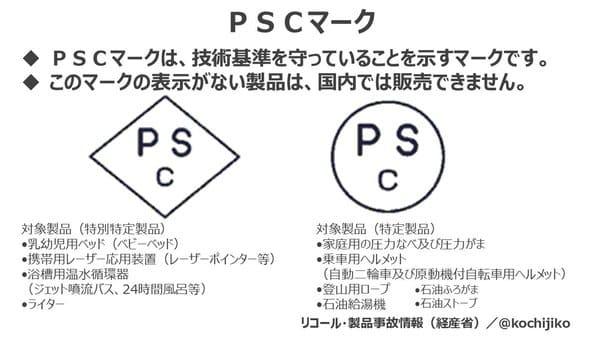 PSCマークの画像