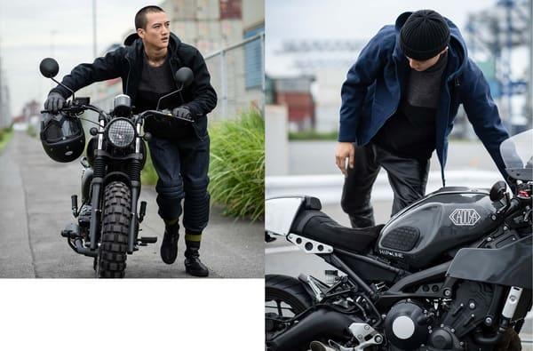 PROTEXPARKAとバイクの画像