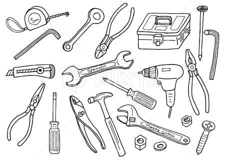 工具のイラスト