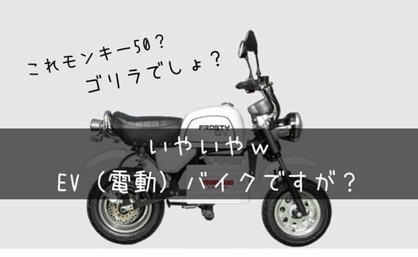 フロスティEV紹介タイトル画像