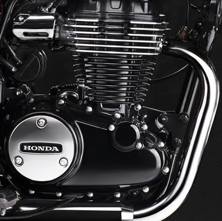 ハイネスCB350のエンジン画像