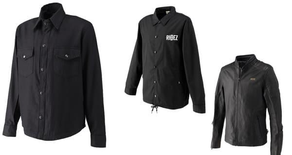 RIDEZのジャケット系アイテムの画像