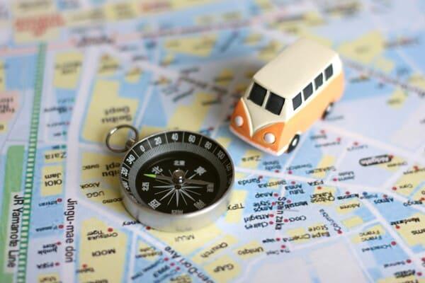 旅行計画の画像