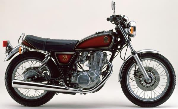 1984年のSR400の画像