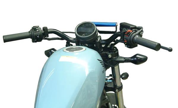 プルダウンバー装着レブル250の画像