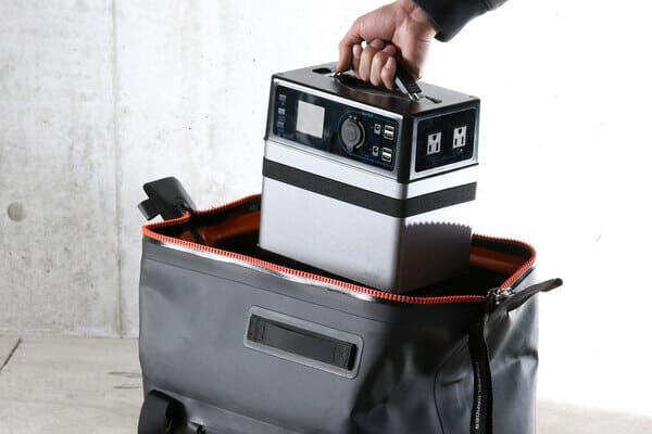 ウォータープルーフダッフルバッグの画像