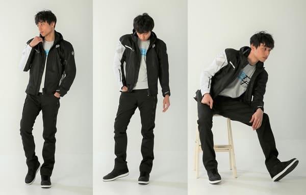 HYODのテキスタイルジャケットの画像