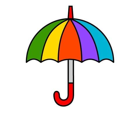傘のイラスト画像