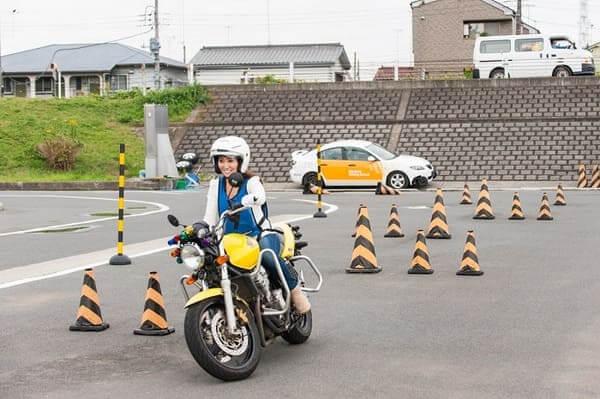 バイク教習の画像