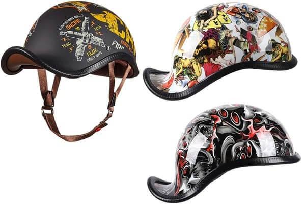 X.N.Sダックテールハーフヘルメットの画像