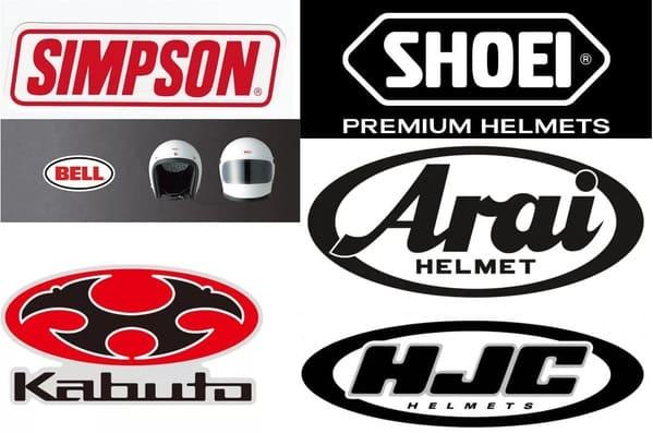 ヘルメットメーカーのロゴ画像