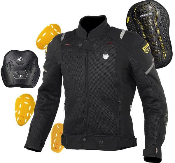 プロテクター付きバイク用ジャケットの画像
