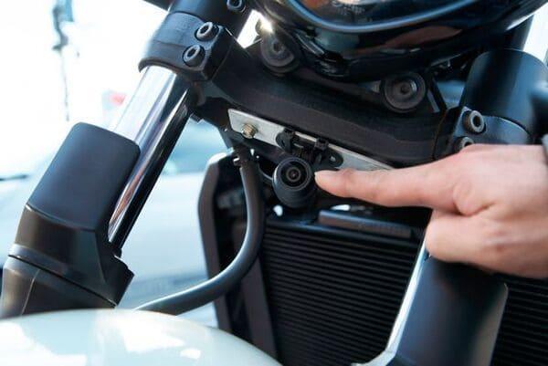 バイク用ドライブレコーダーの画像