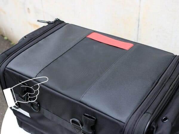 ヘンリービギンズ シートバッグPROの画像