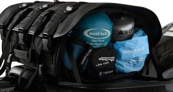 プロト イガヤ キャンプツーリングシートバッグの画像