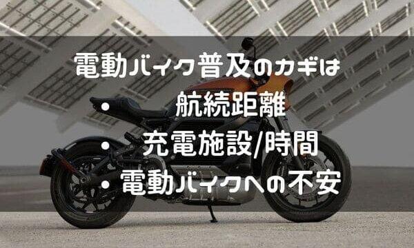 電動バイク普及に向けての考察ページタイトル画像