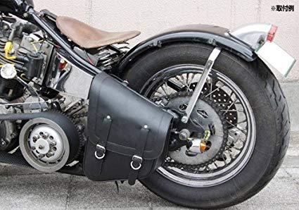 リジッドサドルバッグを装着したバイクの画像